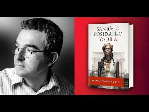 santiago-posteguillo-habla-sobre-«yo,-julia»- -premio-planeta-2018