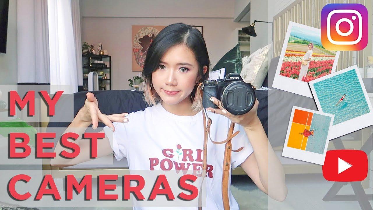 My Best Cameras For Instagram, Blog and Vlog | Camille Co