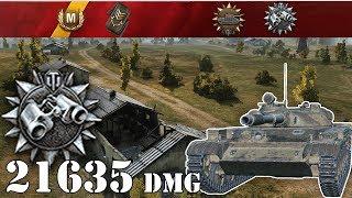 World of Tanks / T-100 LT .. 21635 Spot Dmg