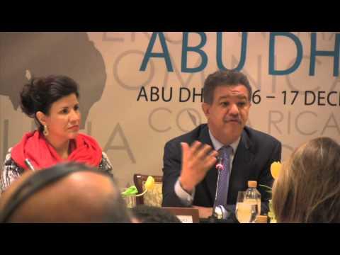 President Leonel Fernandez on Latin American networks