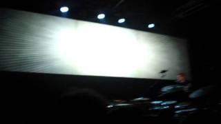 NICOLAS JAAR chiusura @ MEET IN TOWN  parco della musica roma AUDITORIUM 2011