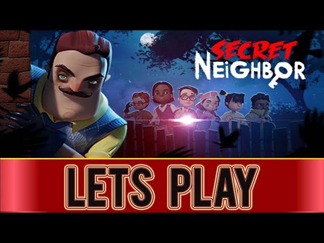 SECRET NEIGHBOR -  PS4 Gameplay (LIVE)