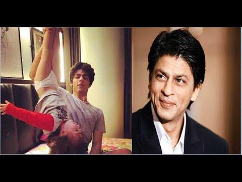 OMG! SRK's Elder Son Aryan Khan Turns AbRam Upside Down!