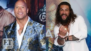 Dwayne Johnson Surprises Daughter With Video From Jason Momoa