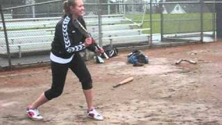 Softball Bunting Tutorial