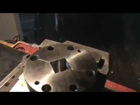 Долбление квадрата на фрезерном станке
