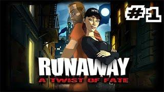 "Runaway 3: A Twist of Fate (PC) Walkthrough ITA #1 - ""BRIAN BASCO E"