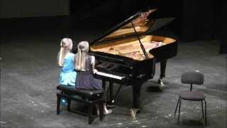 Brahms Hungarian Dance n. 1 - Beatrice and Eleonora Dallagnese