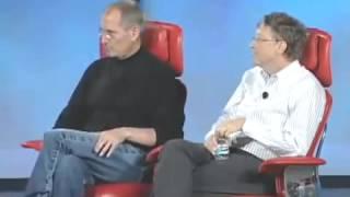 Steve Jobs and Bill Gates Together ستيف جوبز و بل غيتس