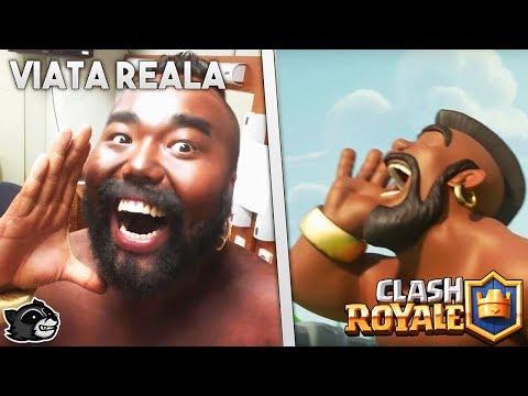 Clash Royale vs Viata Reala !