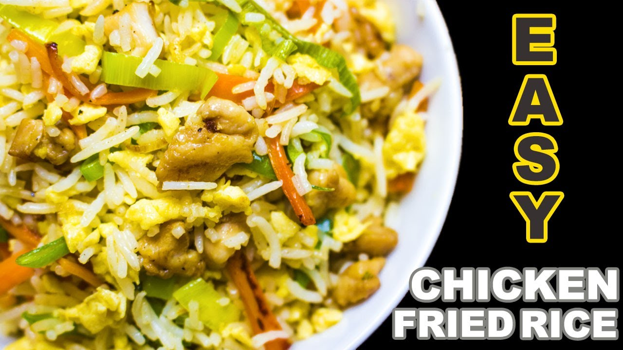 Chicken Fried Rice | indian style chicken fried rice | 2020