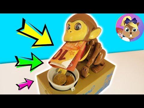 OVAJ MAJMUN KRADE MOJ NOVAC! Monkey Money Bank na srpskom - elektronska kasica za novčanice