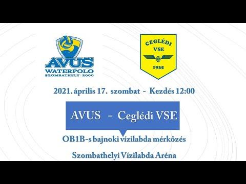 AVUS - Ceglédi VSE  - OB I/B -s bajnoki vízilabda mérkőzés