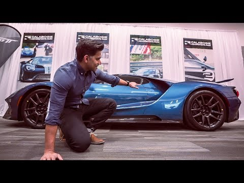 WHAT  MINUTES with a FORD GT was like | Ottawa Auto Show
