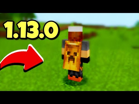 MCPE 1.13 How To Get Custom CAPE | Minecraft PE 1.13