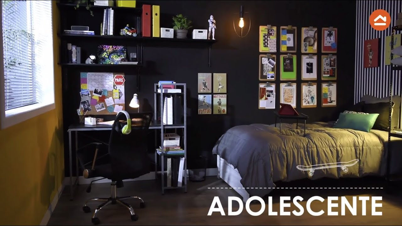 Decora una habitaci n para ni o y adolescente youtube - Decorar paredes facil ...