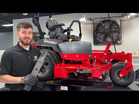 How to Remove a Lawn Mower Deck | Gravely®