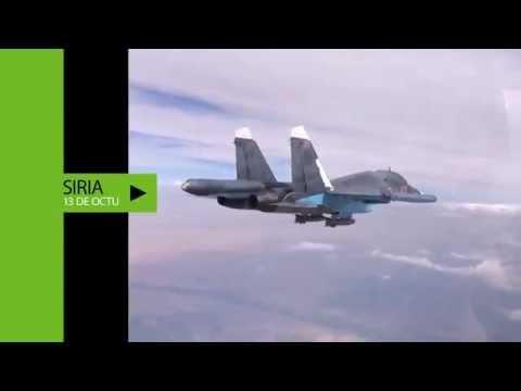 Los terroristas se quedan sin municiones: nuevos videos de los ataques rusos contra el EI (13.10.15)