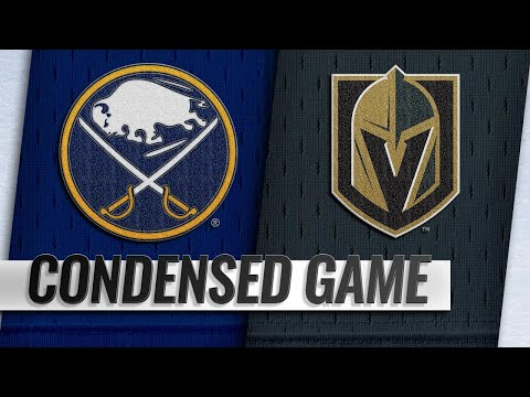 10/16/18 Condensed Game: Sabres @ Golden Knights