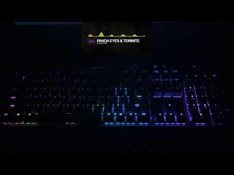 LIGHTS OFF! KEYBOARD ON! [Corsair K70 RGB Audio Visualizer]