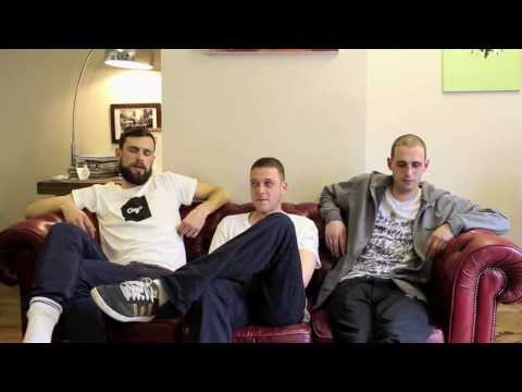 Dirty Dike, Jam Baxter & Ed Scissortongue Interview @ Clay's Barbers, Falmouth