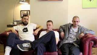 Dirty Dike, Jam Baxter & Ed Scissortongue Interview @ Clay