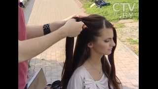 CTV.BY: Мастер-класс от стилиста-парикмахера Сергея Белявского: причёски аля - «Бриджит Бардо»