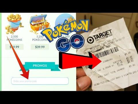 Let's Get  A Promo Code At Starbucks In Pokemon Go