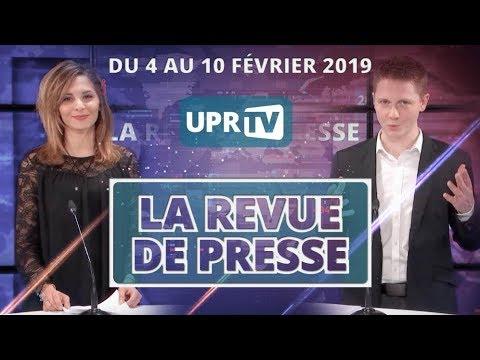 UPR TV - Revue de presse du 4 au 10 février 2019