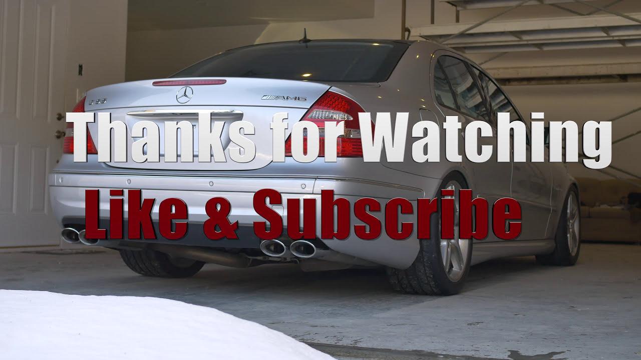 W211 E55 Amg Oil Change Diy L Mercedes M113k (4k)  Amgmeister 05:20 HD