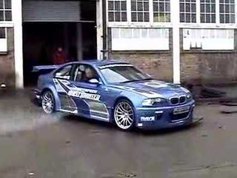 nfs most wanted bmw m3 gtr youtube
