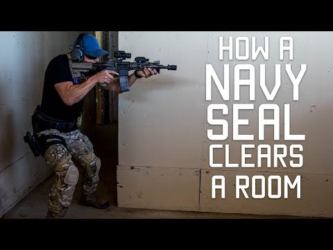 How a Navy SEAL Clears a Room | Close Quarters Combat CQC | Tactical Rifleman