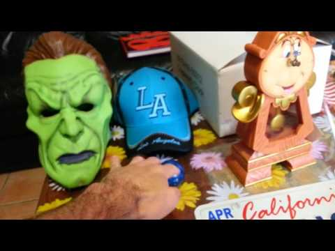 My Purchases From Los Angeles, Anaheim, Disney Land Resort And Universal Studios, California
