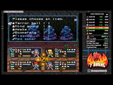 Lufia II Ancient Cave Speedrun in 53:56 (Twitch Recording)