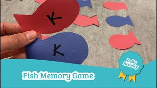 Fish Memory Game   Day¢are Activities