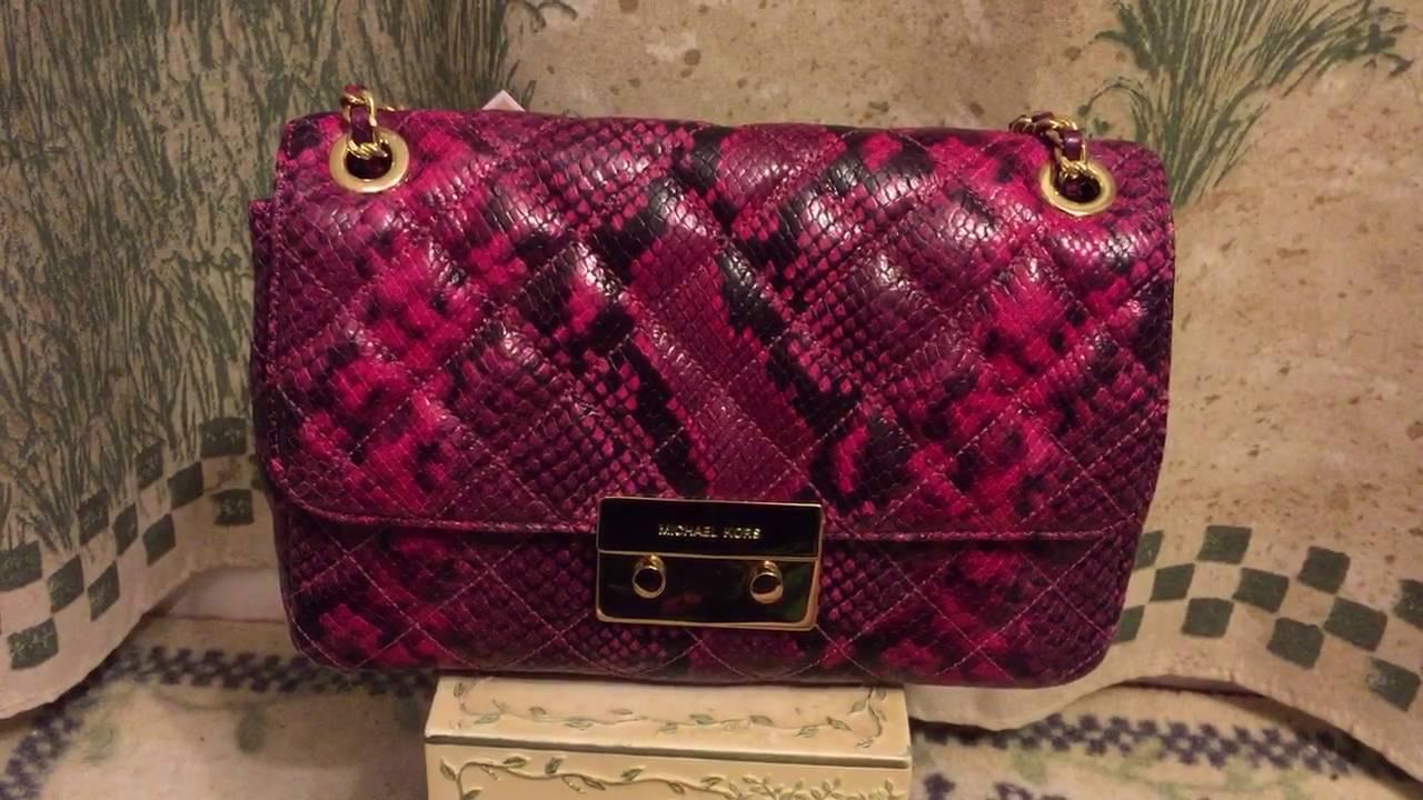 7b105d551544b Michael Kors large Sloan bag review - YouTube