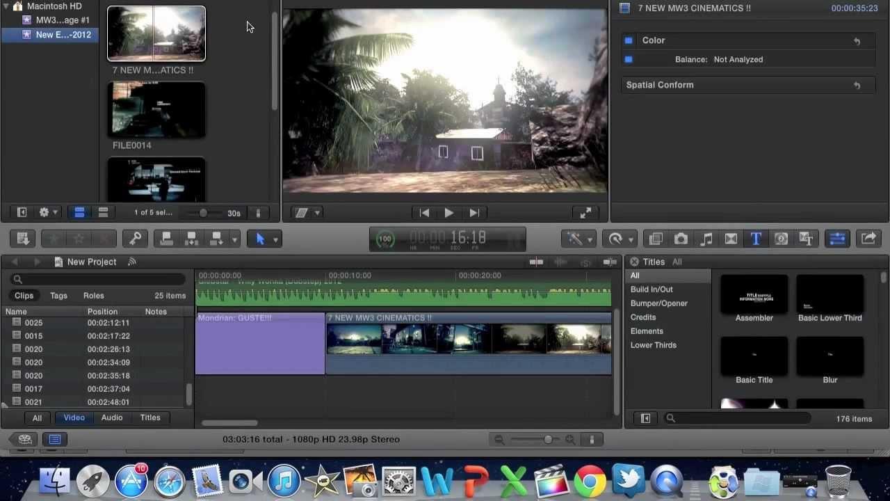 mac movie editor software