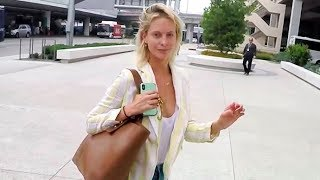 'Genius: Picasso' Star Poppy Delevingne Looks Lovely With No Makeup Upon Arrival In L.A.