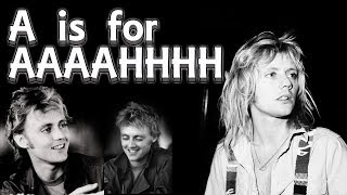 Learn the alphabet with Roger Taylor