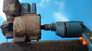 WOW!! Jangan Buang Dulu Bekas Pompa Air U Yang Rusak Masih Bisa Di Akali