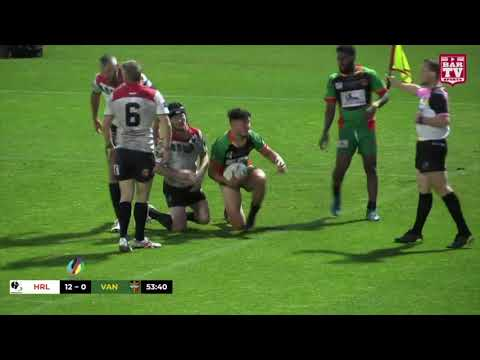 2018 Emerging Nations Rugby League - Highlights - Hungary v Vanuatu