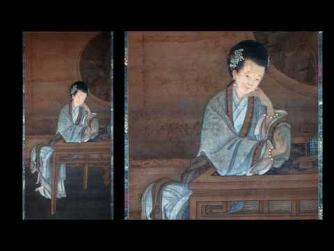 "22B. Chinese Paintings of Beautiful Women (""Meiren"" Part 2)"
