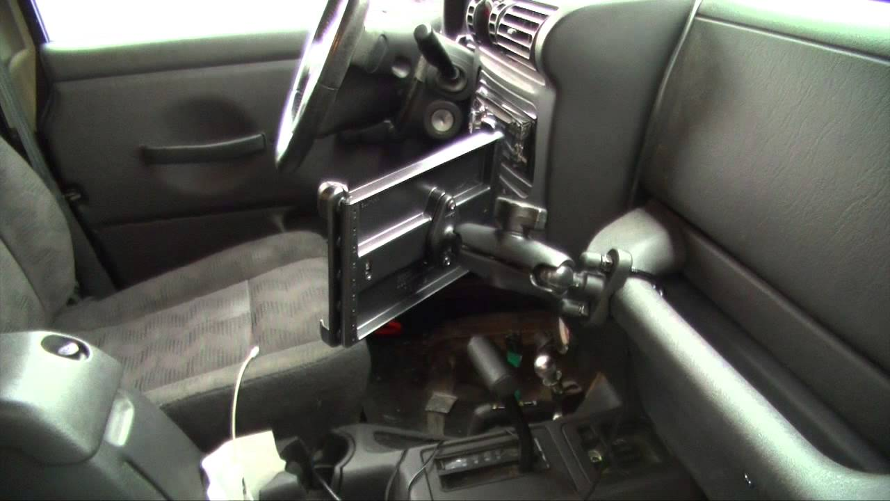 Ram Mount And Nexus 7 For The Jeep Youtube