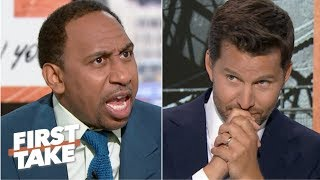 'I need answers!' – Stephen A. grills Will Cain on the Cowboys | First Take