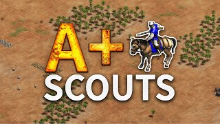 A+ Scouts Build Order - With Extended Commentary