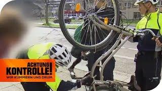 Fahrrad-Polizei in Dresden: Ist das Fahrrad geklaut? | Achtung Kontrolle | kabel eins
