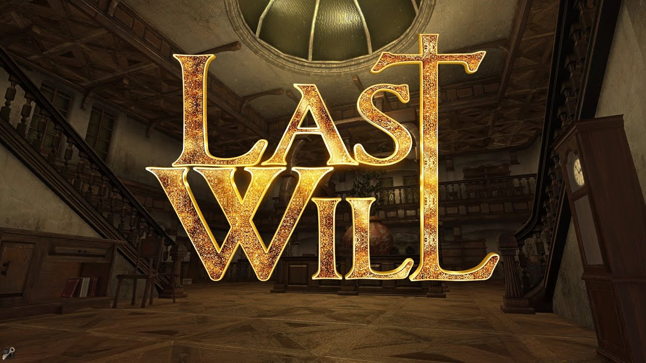Last Will Multiplayer Escape The Room Puzzle Game Youtube
