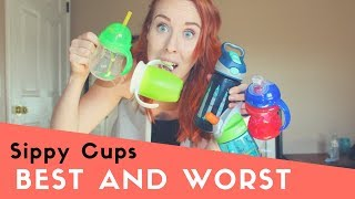 The BEST and WORST Sippy Cups For Messy Toddlers  | Spill Proof?!
