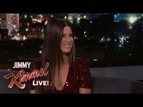 Sandra Bullock Teaches Jimmy Kimmel German