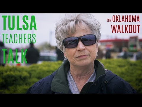Tulsa Teachers Talk - The Oklahoma Walkout l Drone Optix